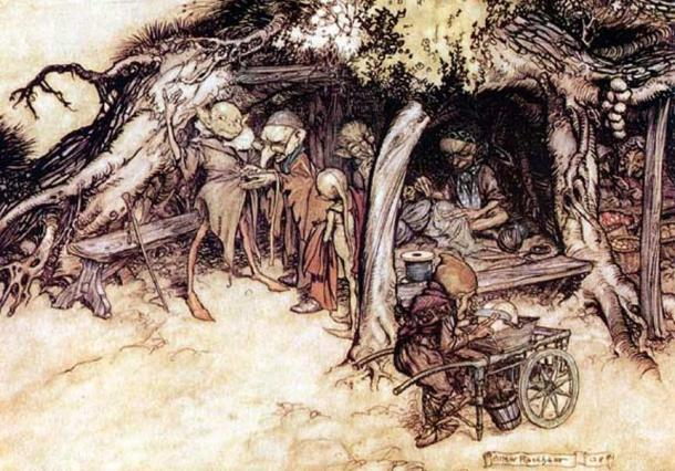 Những sinh vật kỳ bí, quỷ quyết và đầy mê hoặc trong thần thoại Bắc Âu - Ảnh 2.