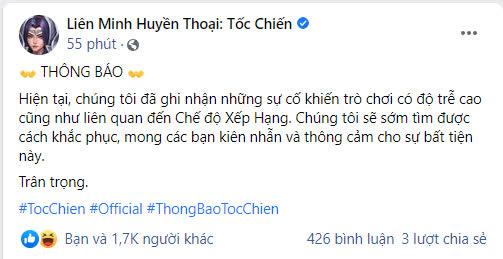 """Bị game thủ Việt dọa đánh sập game, Tốc Chiến có hành động """"outplay"""" khiến cộng đồng khóc thét - Ảnh 1."""