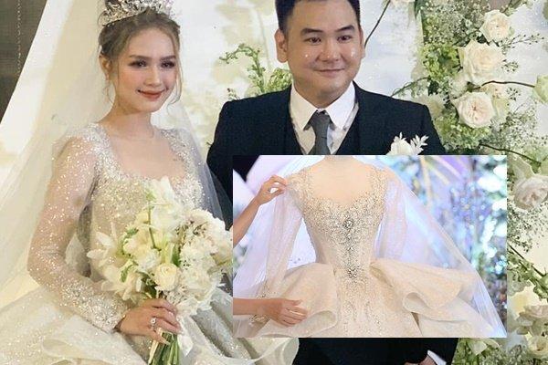 Diện váy cưới 28 tỷ, làm dâu nhà hào môn, hot girl Xoài Non bật mí cách kiếm chồng đại gia - Ảnh 1.