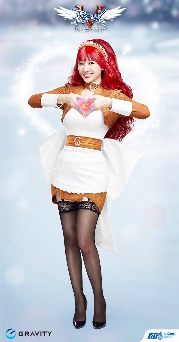 Tóc bạch kim vòng 1 lấp ló, Hari Won khoe full bộ ảnh cosplay nhân vật trong Ragnarok Online đẹp ná thở: game thủ say nắng hay là say Hari? - Ảnh 8.