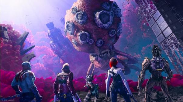 Bom tấn game hành động siêu anh hùng Marvel's Guardians of the Galaxy hé lộ thời gian ra mắt, người chơi không nên bỏ lỡ - Ảnh 3.