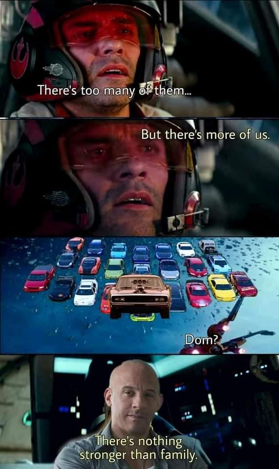 Fast & Furious 9: MXH bùng nổ ảnh chế của gia đình Dom, màn kết hợp sức mạnh ảo diệu mang tầm cỡ vũ trụ - Ảnh 16.