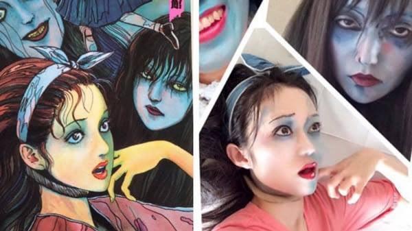 Màn cosplay có tâm nhất quả đất: Thay đổi thành ngàn khuôn mặt kinh dị, dùng photoshop lồng ghép luôn bản thân vào trong truyện tranh - Ảnh 8.