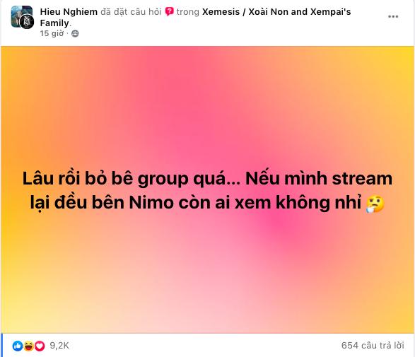 """Xemesis úp mở chuyện stream game lại, fan """"mất niềm tin"""" hỏi một câu chí mạng - Ảnh 3."""