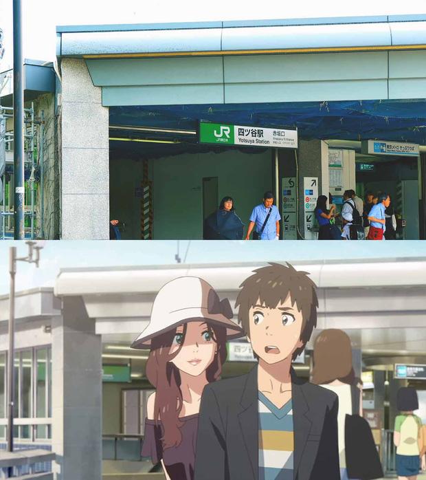 Các địa điểm nổi tiếng Nhật Bản xuất hiện trong Your Name: thực tế đã đẹp lên anime càng huyền ảo hơn! - Ảnh 1.