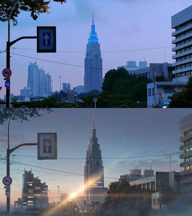 Các địa điểm nổi tiếng Nhật Bản xuất hiện trong Your Name: thực tế đã đẹp lên anime càng huyền ảo hơn! - Ảnh 12.