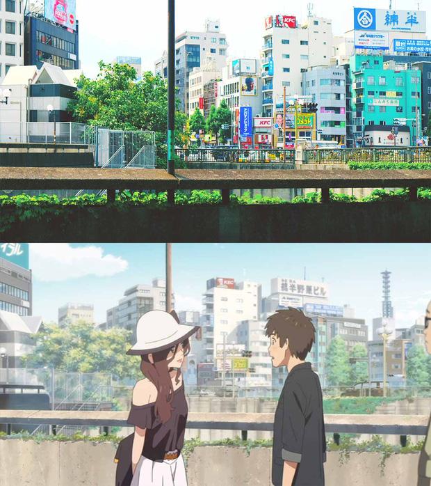 Các địa điểm nổi tiếng Nhật Bản xuất hiện trong Your Name: thực tế đã đẹp lên anime càng huyền ảo hơn! - Ảnh 2.
