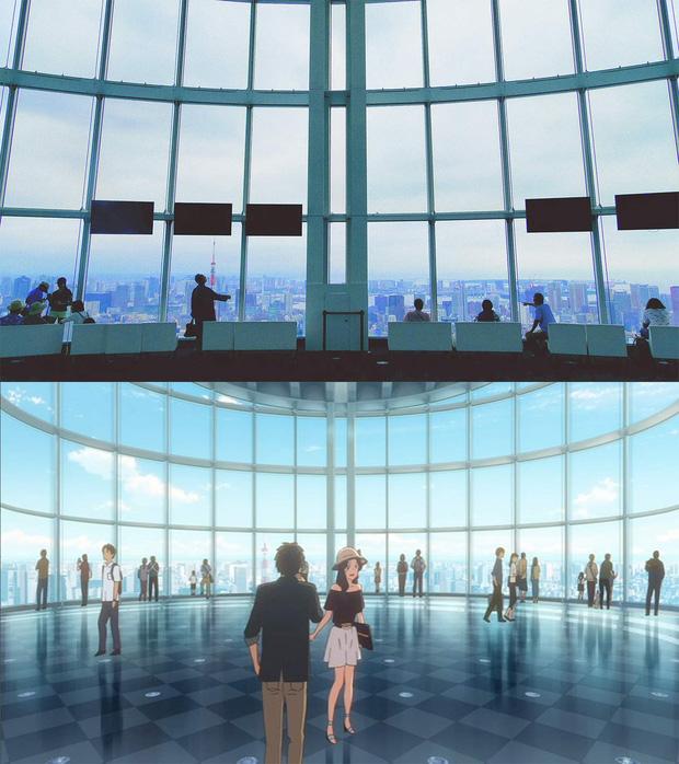 Các địa điểm nổi tiếng Nhật Bản xuất hiện trong Your Name: thực tế đã đẹp lên anime càng huyền ảo hơn! - Ảnh 5.