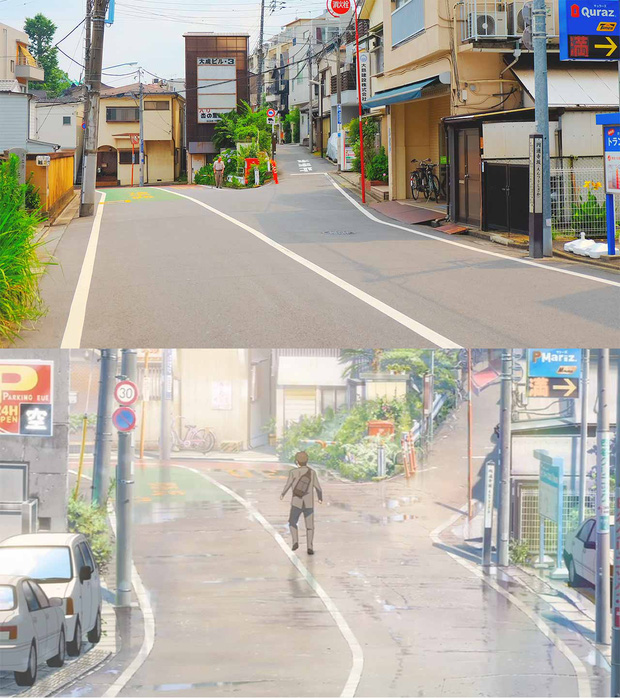Các địa điểm nổi tiếng Nhật Bản xuất hiện trong Your Name: thực tế đã đẹp lên anime càng huyền ảo hơn! - Ảnh 7.