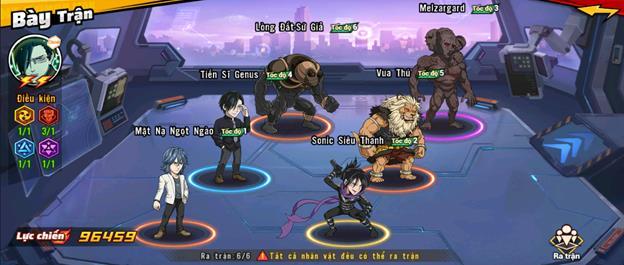 """5 đội hình gợi ý cực mạnh dành cho game thủ One Punch Man: The Strongest, """"một đấm"""" không phải là quá khó - Ảnh 1."""
