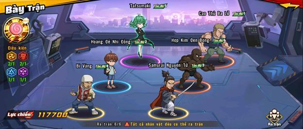 """5 đội hình gợi ý cực mạnh dành cho game thủ One Punch Man: The Strongest, """"một đấm"""" không phải là quá khó - Ảnh 2."""
