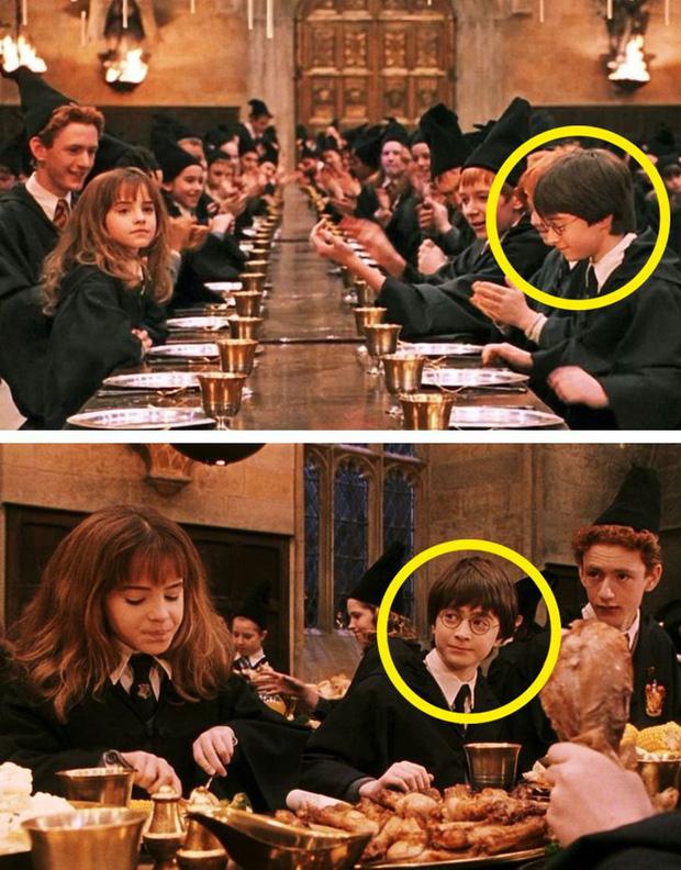 Bắt lỗi những hạt sạn rõ rành rành đầy khó hiểu trong phim Harry Potter - Ảnh 12.