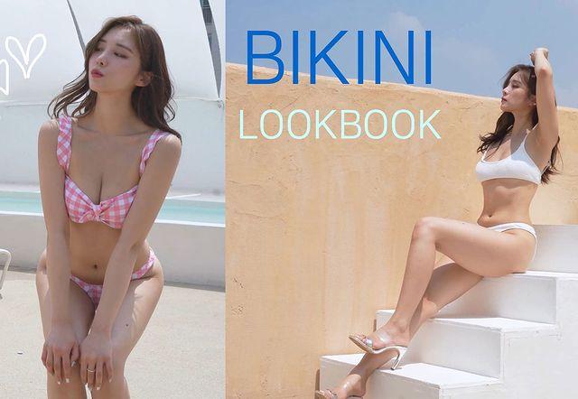 Làm clip Lookbook, khoe nội y và bikini trên sóng với định dạng 4K siêu nét, nữ YouTuber khiến fan mất máu vì quá gợi cảm - Ảnh 1.
