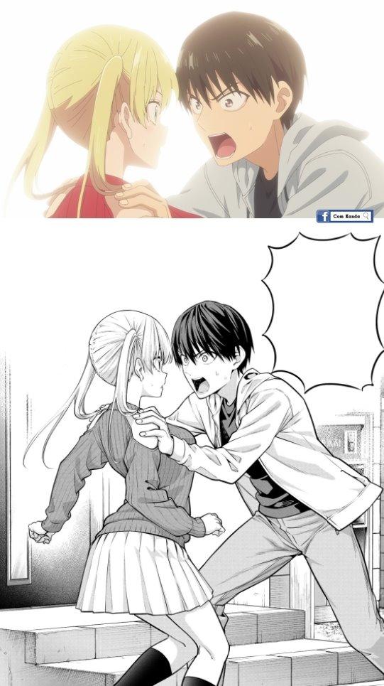 So sánh những hình ảnh trong trang truyện khi đưa lên anime ản gốc đã đỉnh lên hoạt hình lại càng tuyệt hơn Photo-1-1629105656934681144878