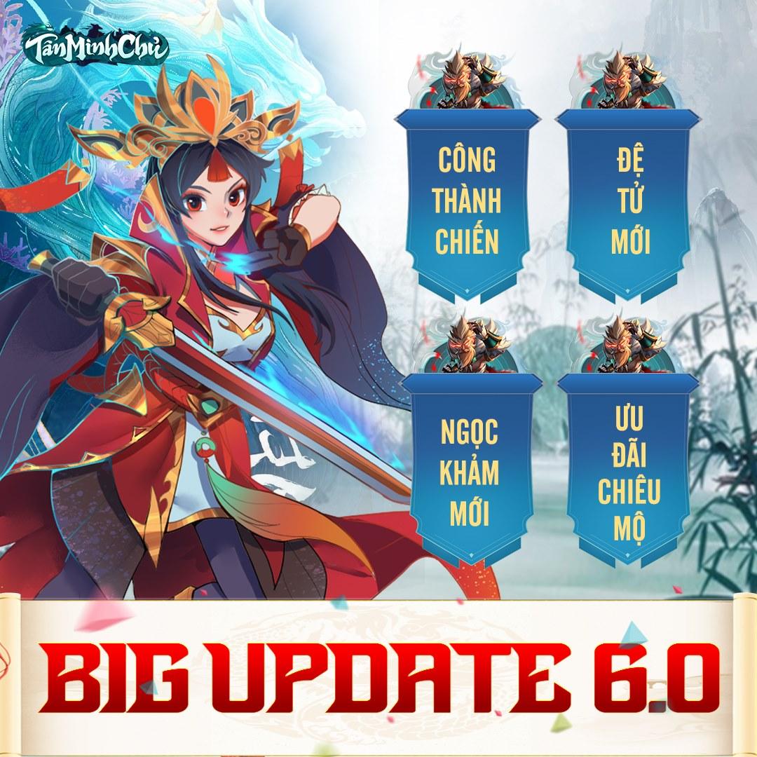 Game HOT có khác, Tân Minh Chủ vừa Big Update đã on top ngay tại Tab Feature Store, tung luôn VIPCODE ăn mừng - Ảnh 2.