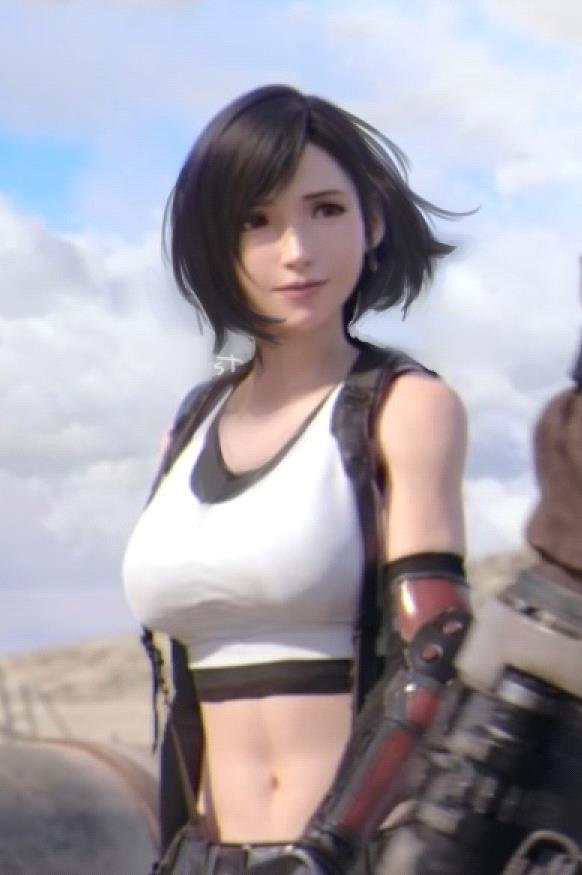 Cộng đồng game thủ phát sốt trước Tifa tóc ngắn vô cùng quyến rũ - Ảnh 2.