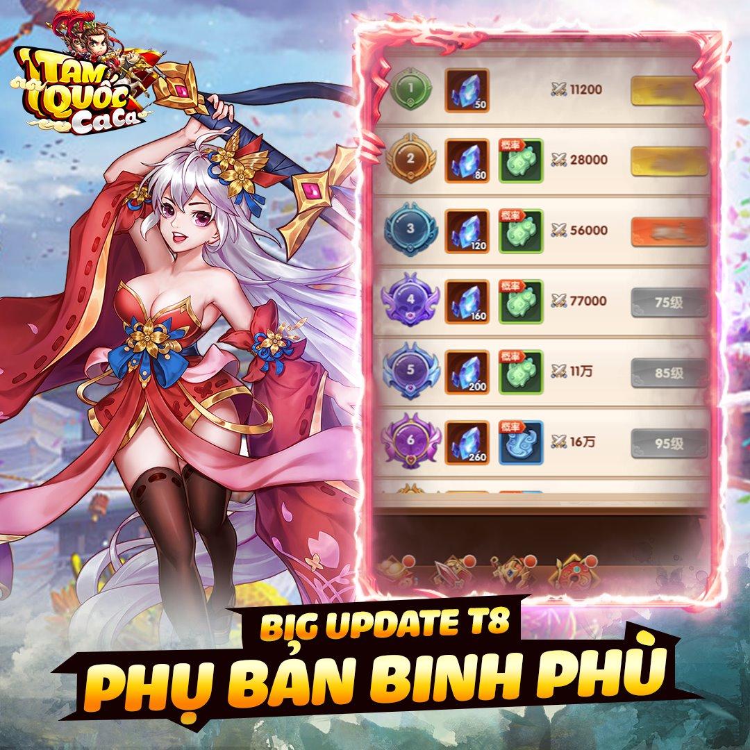 Tam Quốc Ca Ca chính thức tung Big Update Bá Vương Giá Lâm, tặng Giftcode đặc biệt cho tất cả game thủ! - Ảnh 4.