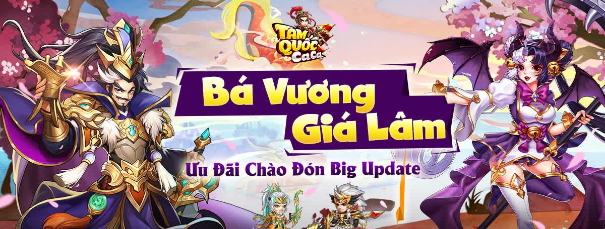 Tam Quốc Ca Ca chính thức tung Big Update Bá Vương Giá Lâm, tặng Giftcode đặc biệt cho tất cả game thủ! - Ảnh 8.