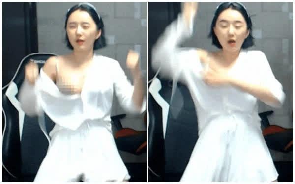 Cheongju Jeong nữ streamer gặp sự cố tụt áo, lộ hết khiến cộng đồng mạng tranh cãi dữ dội Page-16293518855172017570862-16293518996001135268209