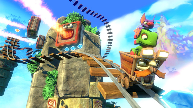 Download now Yooka-Laylee, the legendary Platformer game is being 100% free - Photo 1.