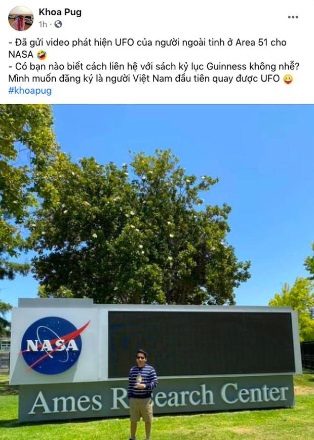 Tuyên bố phát hiện ra UFO, YouTuber giàu nhất Việt Nam tiết lộ đã gửi clip cho NASA, muốn kỷ lục Guiness vinh danh mình - Ảnh 4.