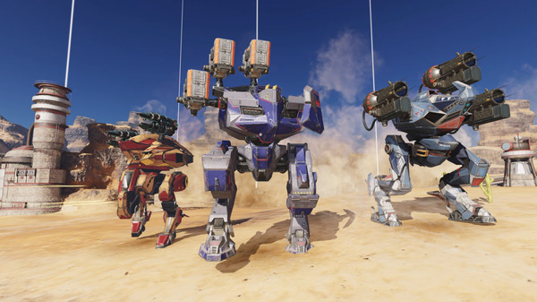 Bombardment, firing bullets in the great war of War Robots, 100% free - Photo 3.