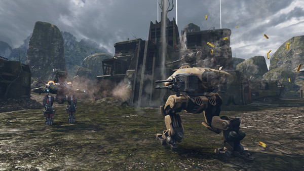 Bombardment, firing bullets in the great war of War Robots, 100% free - Photo 5.