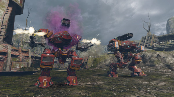 Bombardment, firing bullets in the great war of War Robots, 100% free - Photo 6.