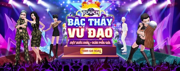 Game vũ đạo Touch bùng nổ với sự kiện cover bước nhảy cùng phần thưởng cực hot - Ảnh 1.