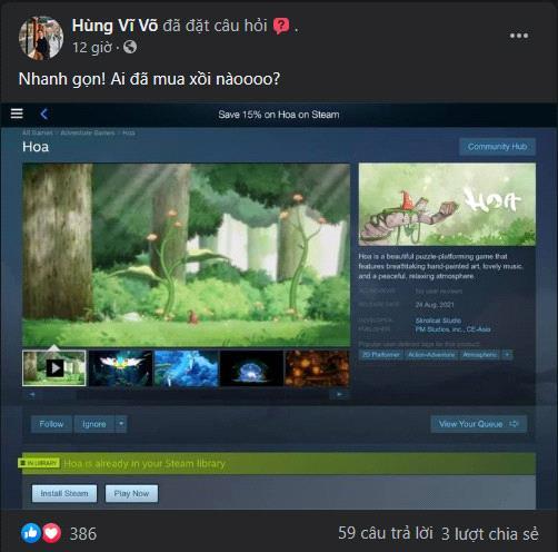 Chung tay đẩy lùi crack, game thủ Việt thi nhau khoe ảnh game bản quyền Hoa - Ảnh 2.