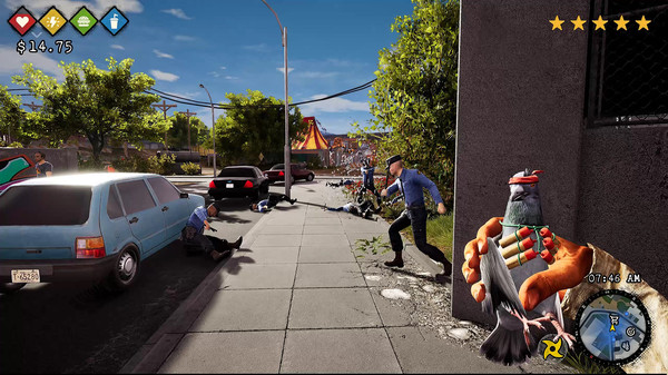Bum Simulator, game giả lập ăn xin, người chơi phải nhặt rác để kiếm sống - Ảnh 4.