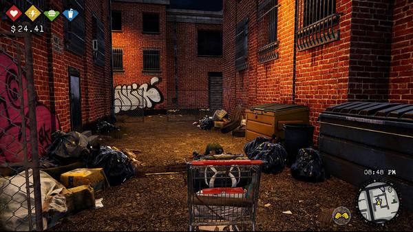 Bum Simulator, game giả lập ăn xin, người chơi phải nhặt rác để kiếm sống - Ảnh 8.