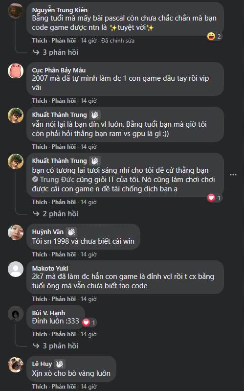 Giỏi như game thủ Việt, mới 14 tuổi nhưng đã tự làm nên game kinh dị - Ảnh 3.