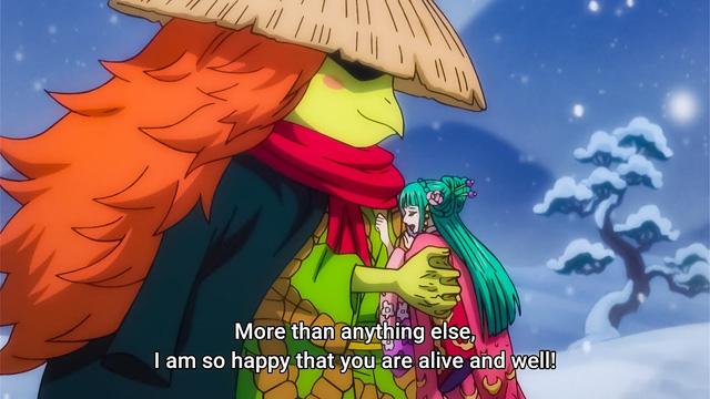 One Piece: Vẫn còn là một bí ẩn, kẻ lạ mặt xuất hiện và rơi nước mắt trong chapter 1004 là ai? - Ảnh 2.