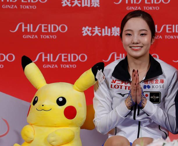 Thánh nữ trượt băng Nhật Bản cosplay Điệp Trụ trong Kimetsu no Yaiba - Ảnh 1.