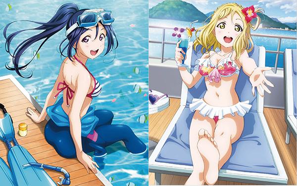 Mùa dịch xem gì, anime Love Live! được nhiều fan yêu thích với những cô nàng nóng bỏng trong bộ đồ bơi - Ảnh 2.