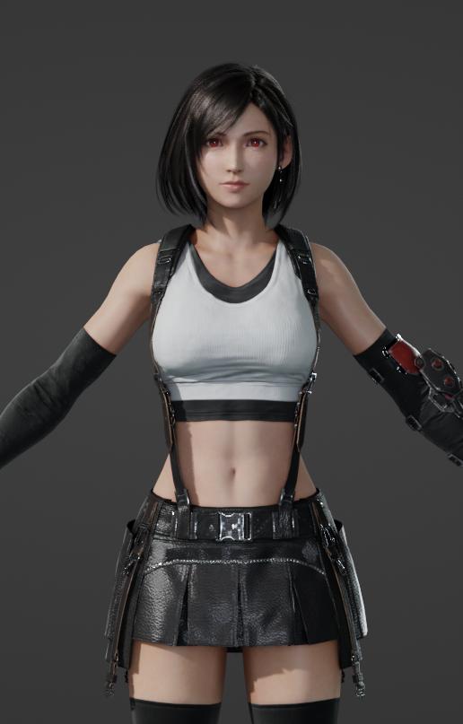 Sống lại trào lưu chế Tifa tóc ngắn, các fan của Final Fantasy phát sốt khi thấy nữ thần với nhan sắc cực phẩm - Ảnh 6.