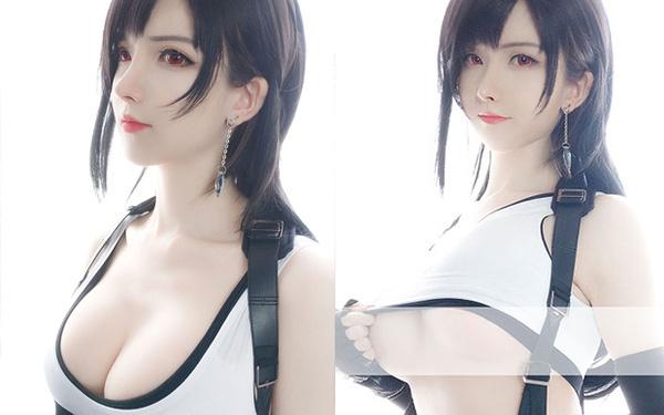 Sống lại trào lưu chế Tifa tóc ngắn, các fan của Final Fantasy phát sốt khi thấy nữ thần với nhan sắc cực phẩm - Ảnh 2.