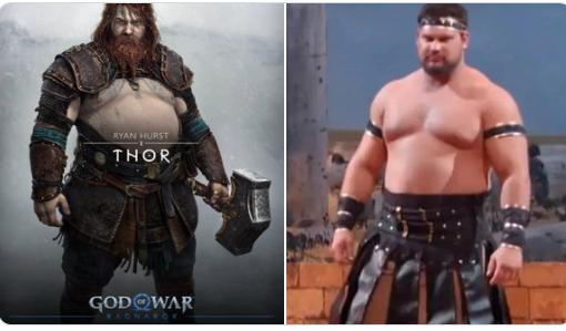Chết cười với loạt ảnh chế tạo hình mới của Thor trong God of War: Ragnarok, cái bụng bia là điểm nhấn - Ảnh 4.
