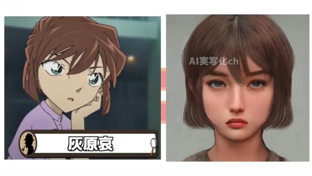 Khi dàn nhân vật Conan bước ra đời thật: Shinichi đẹp trai ngời ngời, Akai gây thất vọng lớn - Ảnh 11.