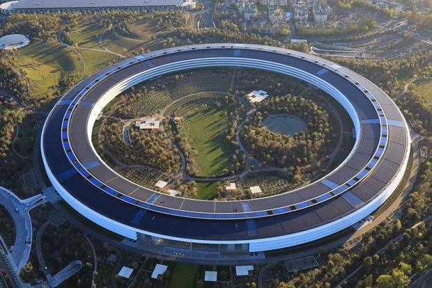 Cận cảnh Apple Park, trụ sở không hề 'gắn' vào Trái Đất của Apple, trị giá 5 tỷ USD - Ảnh 1.