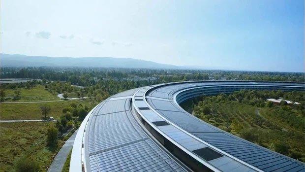 Cận cảnh Apple Park, trụ sở không hề 'gắn' vào Trái Đất của Apple, trị giá 5 tỷ USD - Ảnh 2.