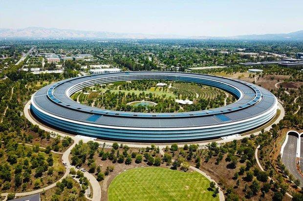 Cận cảnh Apple Park, trụ sở không hề 'gắn' vào Trái Đất của Apple, trị giá 5 tỷ USD - Ảnh 3.