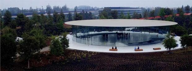 Cận cảnh Apple Park, trụ sở không hề 'gắn' vào Trái Đất của Apple, trị giá 5 tỷ USD - Ảnh 4.