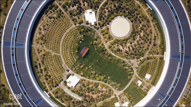 Cận cảnh Apple Park, trụ sở không hề 'gắn' vào Trái Đất của Apple, trị giá 5 tỷ USD - Ảnh 6.