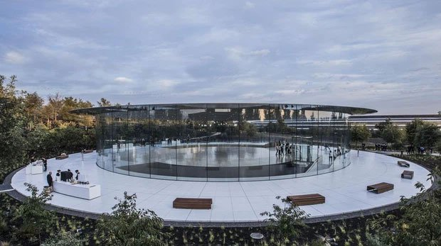 Cận cảnh Apple Park, trụ sở không hề 'gắn' vào Trái Đất của Apple, trị giá 5 tỷ USD - Ảnh 7.