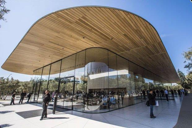 Cận cảnh Apple Park, trụ sở không hề 'gắn' vào Trái Đất của Apple, trị giá 5 tỷ USD - Ảnh 13.