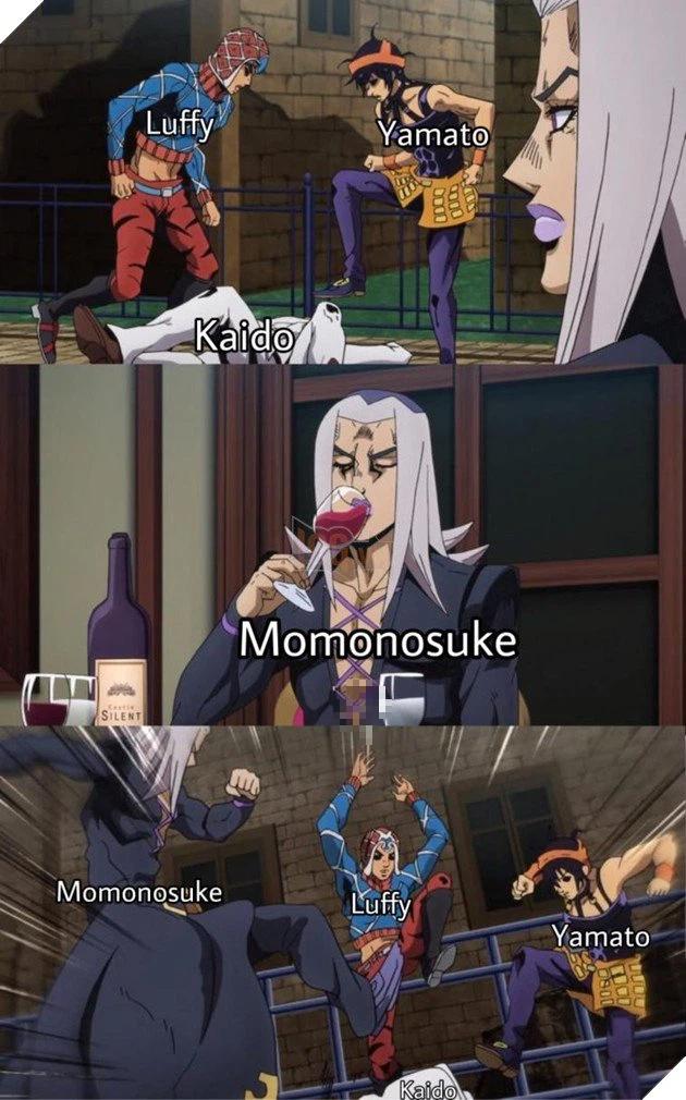 Các fan thích thú với loạt ảnh chế One Piece chap 1025 đầy hài hước, khi dạng rồng của Kaido bị đụng hàng - Ảnh 2.