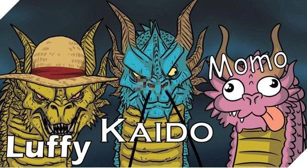 Các fan thích thú với loạt ảnh chế One Piece chap 1025 đầy hài hước, khi dạng rồng của Kaido bị đụng hàng - Ảnh 7.