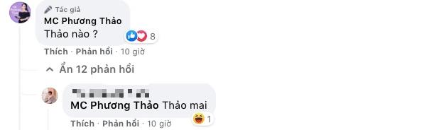"""Tranh thủ giữa buổi dẫn ĐTDV để đăng hình """"thả thính, MC Phương Thảo bị fan """"troll tới bến - Ảnh 4."""